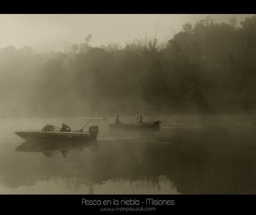 Pesca en la niebla - El Alcazar Misiones by IvanPawluk2