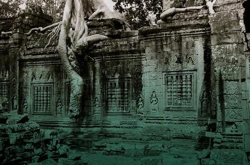 Angkor Thom - green