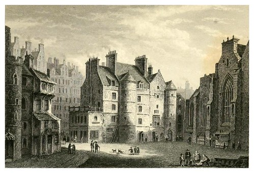 016-Tolbooth-Heart of Mid-Lothian-Finden's landscape illustrations of the Waverley novels.. 1834-varios artistas