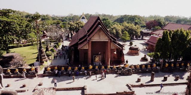 Wat Yai Chai Mongkhon Buddhist Temple in Thailand, Ayutthaya