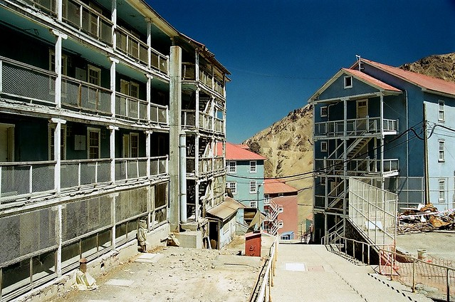 La ciudad de las escaleras, Sewell, Chile