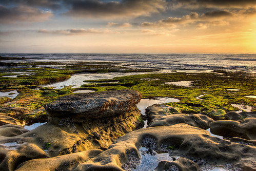 Low Tide La Jolla Sunset
