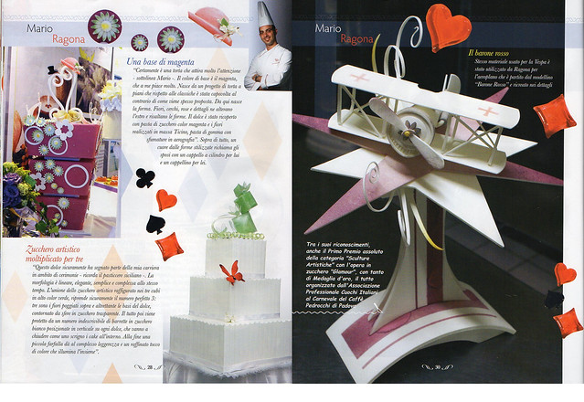 Cake Design Mensile : Mario Ragona sulla Rivista
