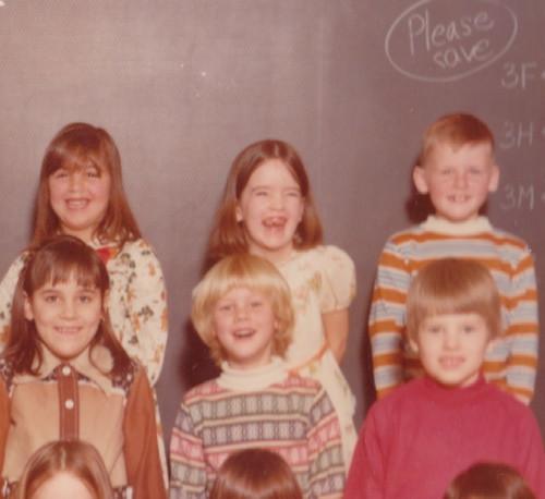 first grade class pic