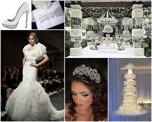 Elegantly Opulent Bridal Style