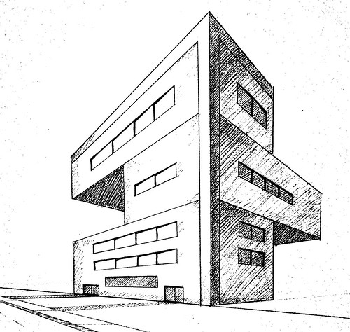 Modern Building Drawing 3d Tall Building Sketch Related Keywords