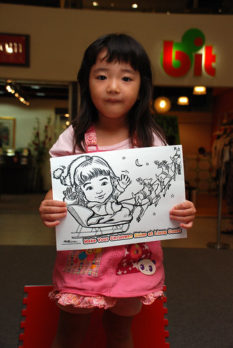 "caricature live sketching for ""Make Your Christmas Shine at Liang Court"" - 9"
