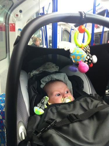 On Victoria Line