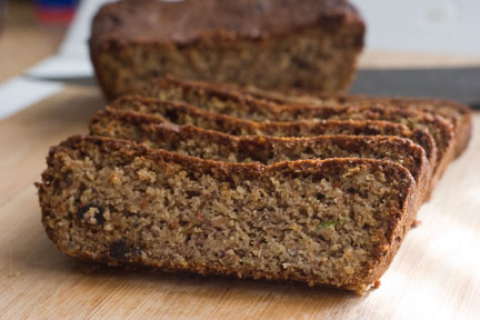 Low Carb Zucchini Bread - 3 Net Carbs/Slice