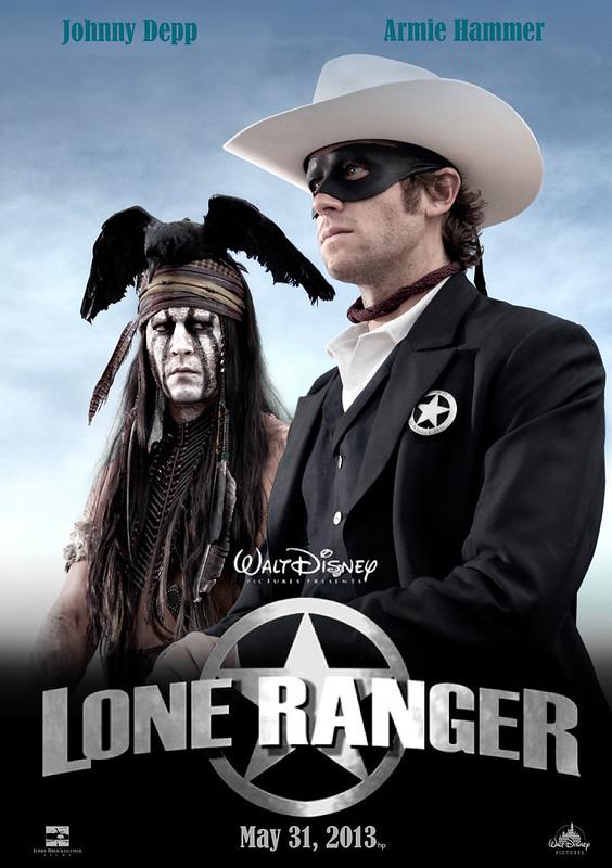 Lone Ranger 2013 Movie Poster