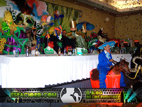 Mesa de Honor Rueda de Prensa Carnaval de Bonao / Foto: Hanel Peña