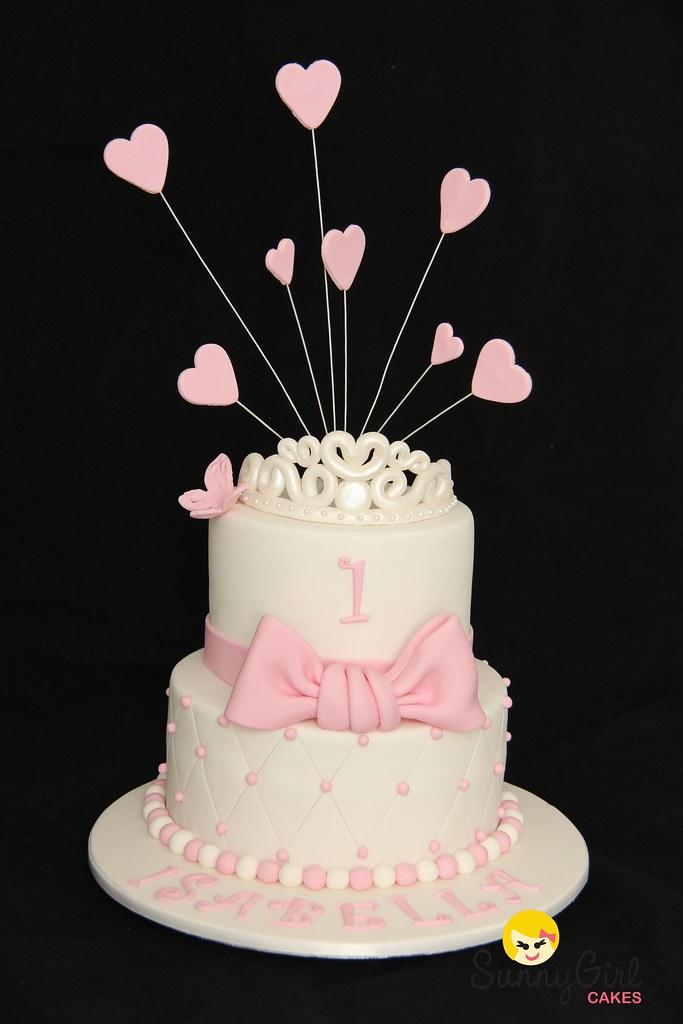 Princess First Birthday Cake Skye Howe Flickr
