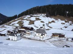 Blick hinuter nach Thierbach