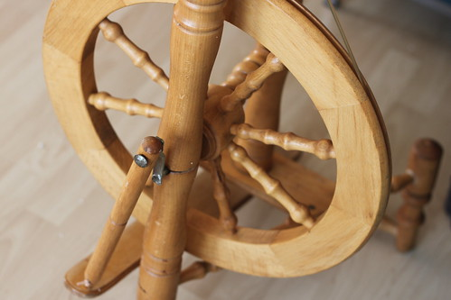 my nw old spinning wheel arrived!