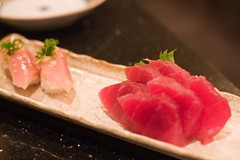 Ahi Sushi - fresh fish