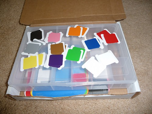 DIY Color Tablets (Photo from Chestnut Grove Academy)