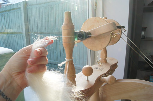 mohair spinning