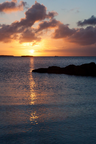 vacation color water clouds shoreline bahamas exumas stanielcay