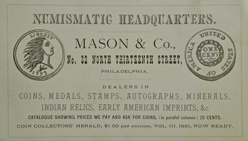 Mason & Co Numismatic Headquarters