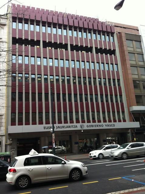 Sede del Gobierno Vasco en Bilbao