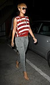 Rihanna Cargo Jeans