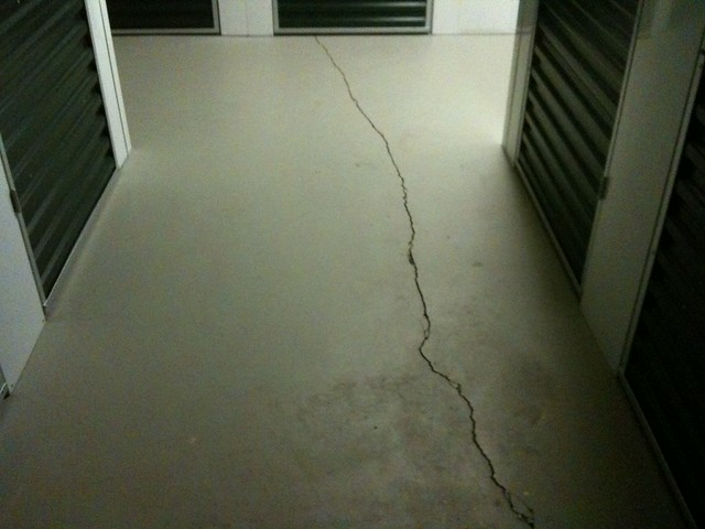 Storage Basement Earthquake Damage