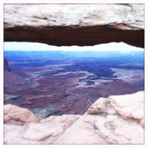 Mesa Arch (non) sunrise