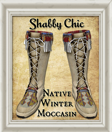 Shabby Chic Native Winter Moccasin by Shabby Chics