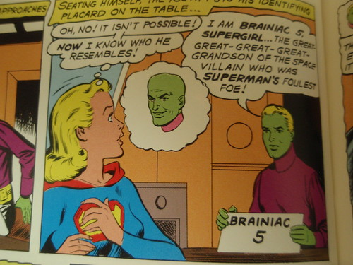 supergirl, brainiac, and brainiac 5