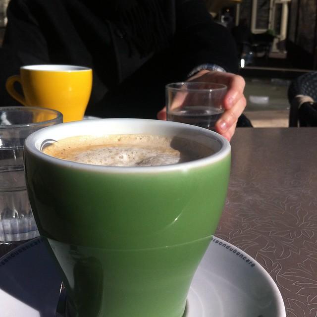 my café crème