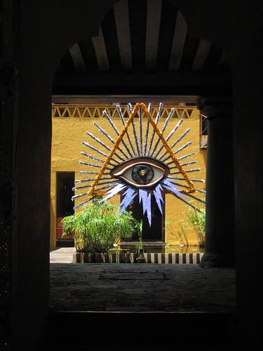 Eye of Providence, Casa Vieja @ Oaxaca 2012