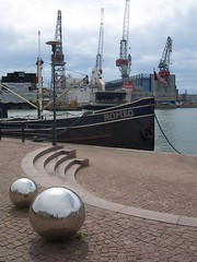 Balls to Romeo at Helsinki shipyard