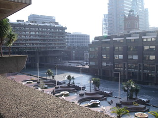 Barbican plaza