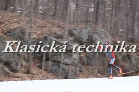 Video - škola běžeckého lyžování: Klasická technika – 2. díl