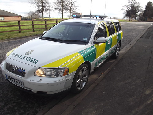 East Midlands Ambulance Service Volvo V70