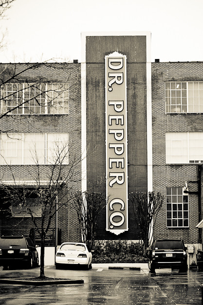 dr pepper building sign, birmingham, al