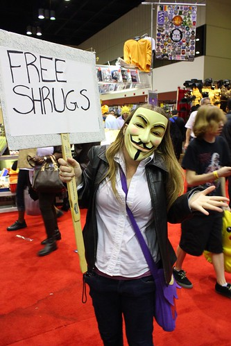 Free Shrugs - MegaCon 2012