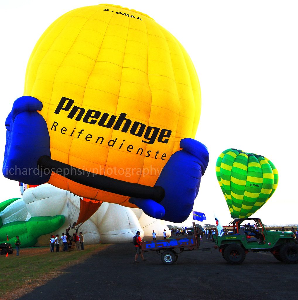 2012 Hot Air Balloon Fest at Clark, Pampanga, Philippines