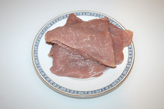 06 - Zutat Putenschnitzel / Ingredient turkey steaks
