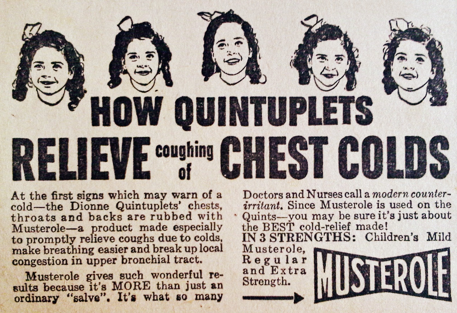 Musterole 1942