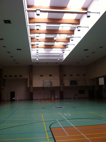 Basketball Court - Flughafen Berlin Tempelhof by despod