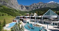 Bazény, wellness a SPA ve Švýcarsku