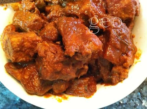 Nyonya pork rib sambal