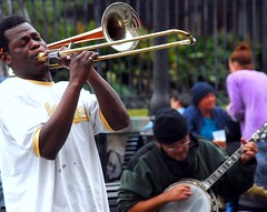 street music, New Orleans (by: Bob Jagendorf, creative commons license)
