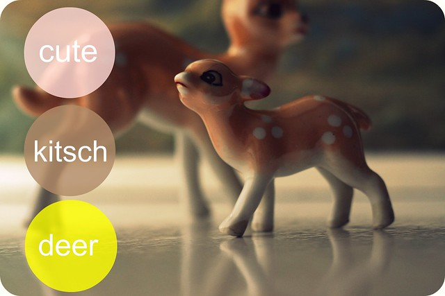 kitsch deer