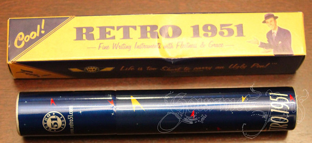 Retro 51 Packaging