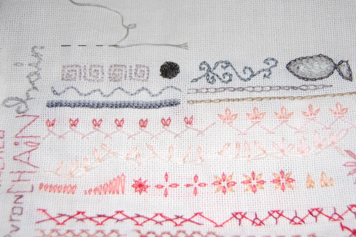 tast 2012 #8: chain stitch