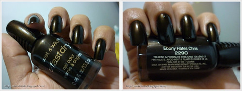 Ebony Hates Chris (Wet N' Wild) + Ametista (L'aPogée) + Lança-Perfume (Top Beauty)