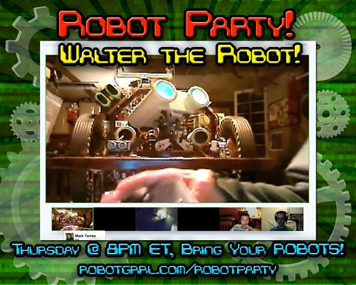 Robot Party August 11, 2011