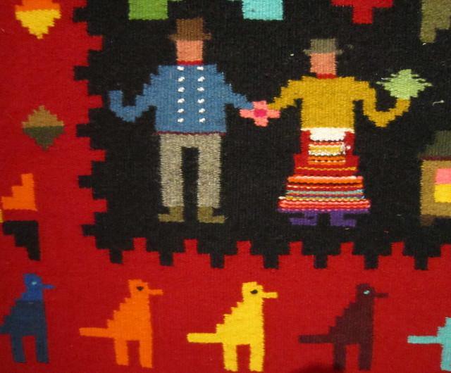 estonian folkart textiles. christi kütt
